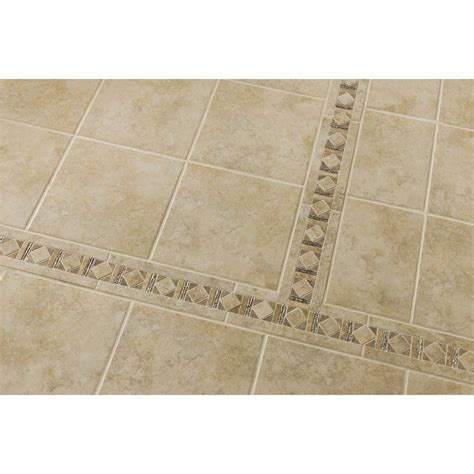 style selections tile style selections classic glazed porcelain indoor