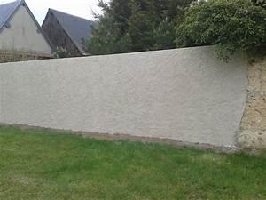 Faire Un Mur De Cloture : enduits la chaux ma onnerie ancienne ~ Premium-room.com Idées de Décoration