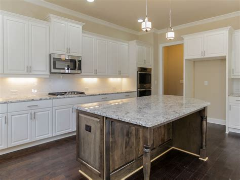 Cost Of Kitchen Backsplash by This Montgomery Kitchen Showcases A Modern Subway Tile