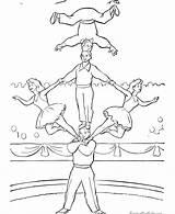 Circus Coloring Circo Zirkus Ausmalbilder Colorir Dia Desenhos Kleurplaten Printable Sheets Artisten Ausdrucken Happy Acrobat Fun Birthday Lion Kostenlose Malu sketch template