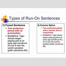 Runons Notes Powerpoint