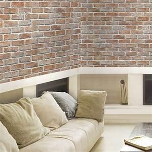 Adhesive wallpaper self adhesive stickers vintage brick ...