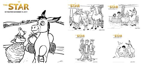 star printable activity  coloring sheets thestar