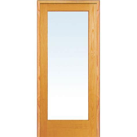 Depot Glass Doors Interior by Mmi Door 33 5 In X 81 75 In Classic Clear Glass 1 Lite