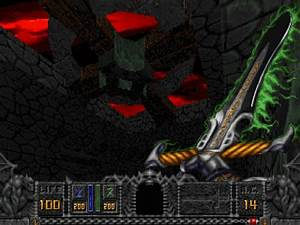Download Hexen Beyond Heretic DOS Games Archive