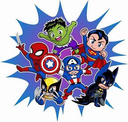 Marvel Super Heroes Superman Clipart Transparent Bebes