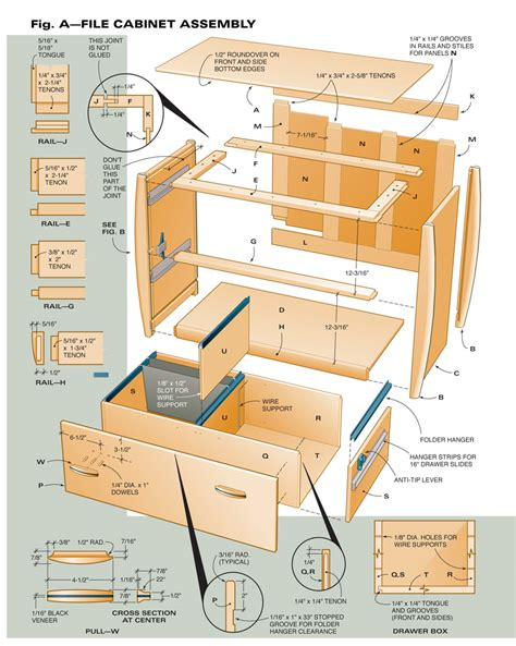 aw extra    file cabinet popular woodworking