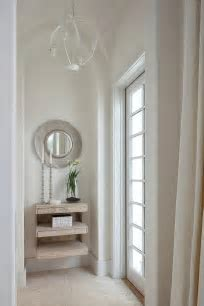 Foyer Niche   Mediterranean   entrance/foyer   Sunset Magazine