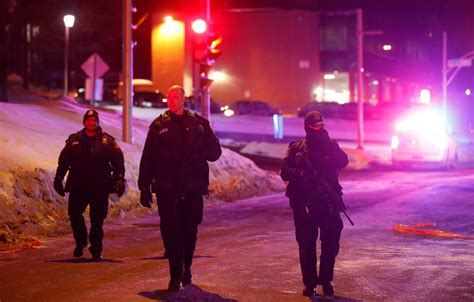 Six Dead And Eight Injured After Gunman Opens Fire At
