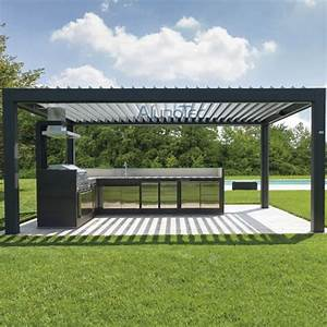 Pergola Aluminium En Kit : automatic aluminum louvered pergola kits buy aluminum ~ Edinachiropracticcenter.com Idées de Décoration