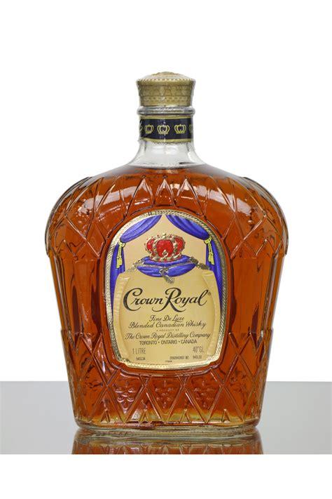 Crown Royal Fine De Luxe (1 Litre) - Just Whisky Auctions