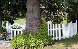 Gartenzaun Holz Weiß : gartenzaun holz weis ~ Sanjose-hotels-ca.com Haus und Dekorationen