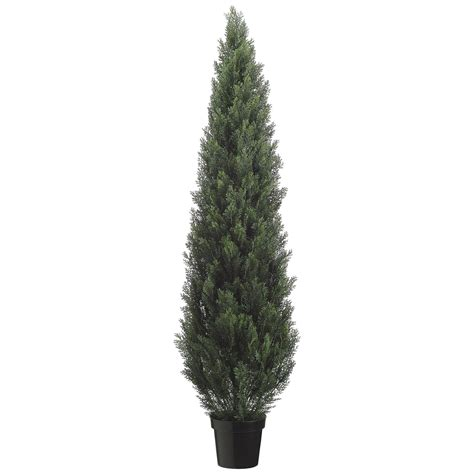 6 foot artificial outdoor cedar tree potted 6ftced st