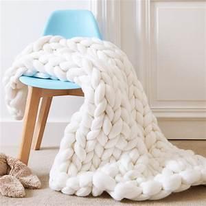 Plaid Grosse Maille Laine : maille de laine gallery of cravate maille laine with maille de laine great leon u harper pull ~ Teatrodelosmanantiales.com Idées de Décoration