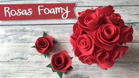 Collection of Flores Miniatura En Foamy O Goma Eva Con