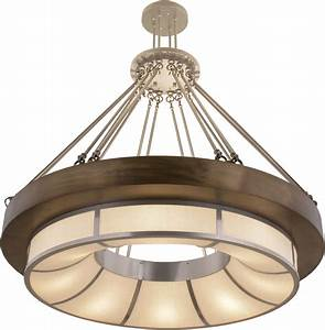 Meyda Tiffany 158295 Pewter    X  A  C Drop Ceiling