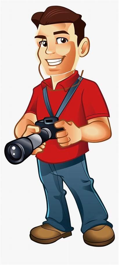 Photographer Clipart Professional Male Photographers Kindpng