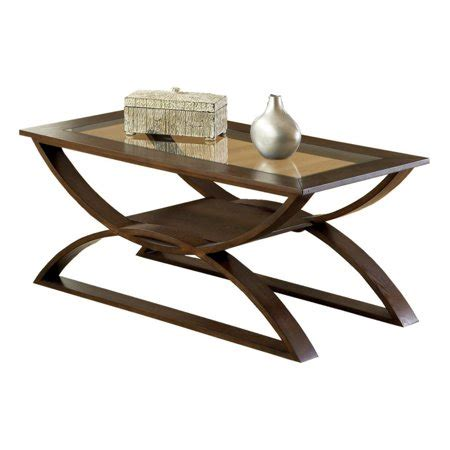 A wooden coffee table made of oak is a piece of sturdy material. Steve Silver Dylan Rectangle Cherry Wood Coffee Table with Glass Top - Walmart.com