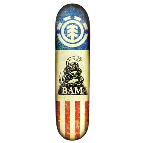 Element Bam Independent Skateboard Deck Evo