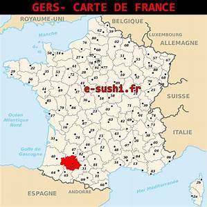 Carte Du Gers Détaillée : info gers sur la carte de france ~ Maxctalentgroup.com Avis de Voitures