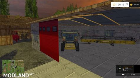Garage Farm by Garage For Farm Mod For Farming Simulator 2015 15 Fs