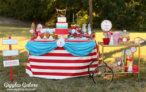 Come One, Come All…it's A Circus Party