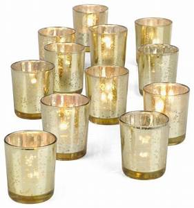 votive cups gold set of 12 With kitchen cabinets lowes with vintage tea light candle holders