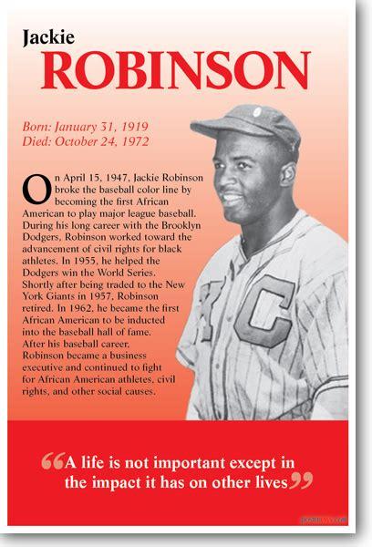 Jackie Robinson - Biography - African American Baseball ...