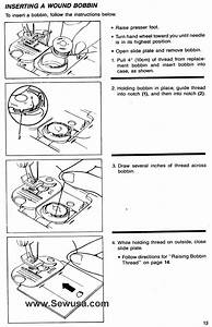 Threading Instructions For Singer Sewing Machine 8606