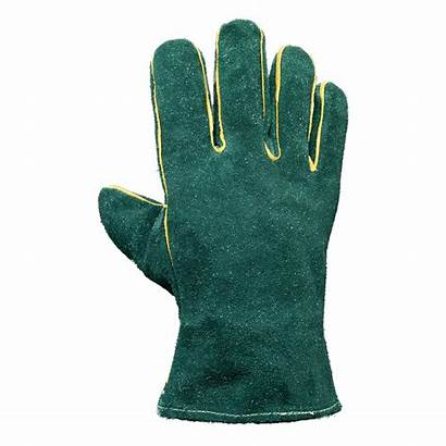 Gloves Leather Welders Lined 5cm Hand Za