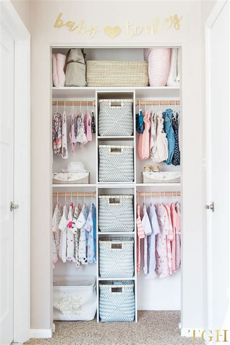 Small Baby Closet Organization Ideas by Build This Custom Nursery Closet For 100 Nursery