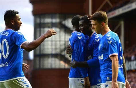 Rangers star gets 9/10 in Europa League win over FC ...