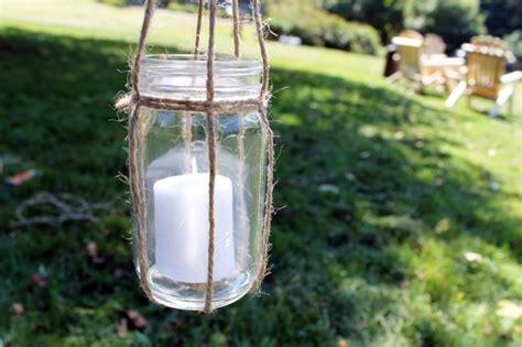 diy hanging candle lanterns diy basics hanging jar lanterns brit co