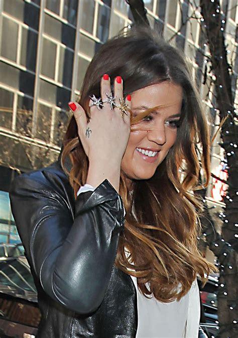Khloe Kardashian Red Nail Polish - Khloe Kardashian Nails ...