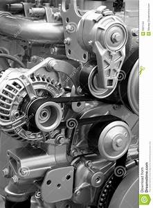 Engine Parts And Components Stock Photo