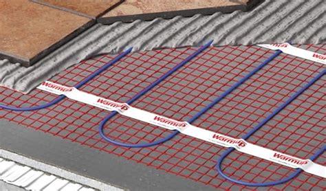 underfloor heating mat self adhesive electric stickymat warmup