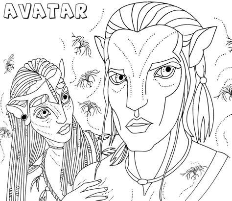 ausmalbilder avatar zum ausdrucken kostenlos fuer kinder