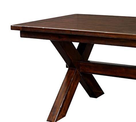 toscana extending dining table alfresco brown pottery barn