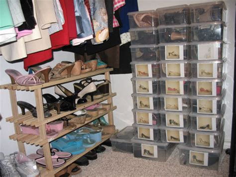 how do you organize your shoes