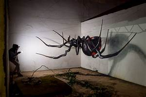 3D Spider street art - Streets United