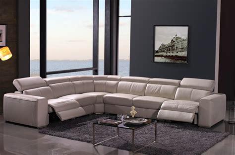 canapé d angle mobilier de canapé d 39 angle relax en cuir de buffle italien de