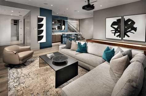62 Finished Basement Ideas (Photos) Home Interior