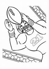 Football Coloring Pages Printable Soccer sketch template