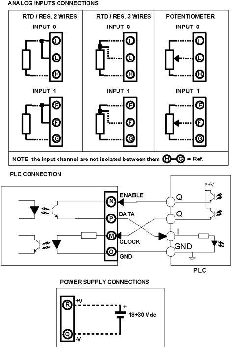 rtd  digital plc input module resistance input dat