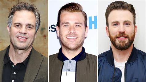 Mark Ruffalo, Scott Evans & More React To Chris Evans' Nudes