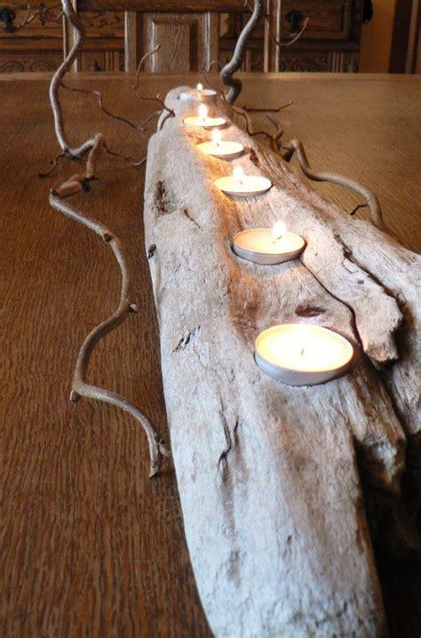 driftwood large center piece wedding decor rustic