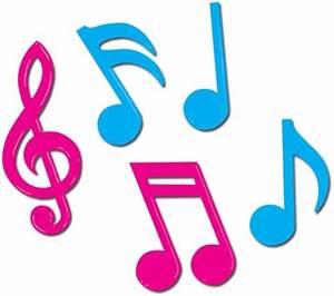 Coloured Music Symbols - ClipArt Best