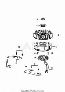 Troy Bilt 4p90hu Engine Parts Diagram For 4p90hu Ignition