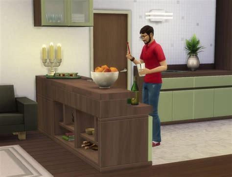 counter slurp bars  plasticbox  mod  sims sims