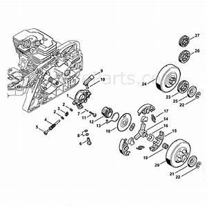 Stihl Ms 391 Chainsaw  Ms391  Parts Diagram  Oil Pump